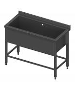 Stalas su viena vonia ir modulinėm lentynom Image