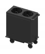 Šildomas lėkščių dispenseris - vežimėlis Image