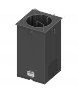 Įmontuojamas šildomas lėkščių dispenseris Image