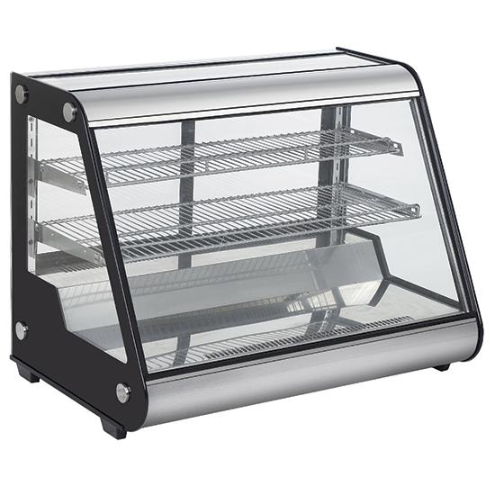 Šildoma vitrina, 3 aukštai, ilgis 856 mm +30 ° / + 90 ° C Image