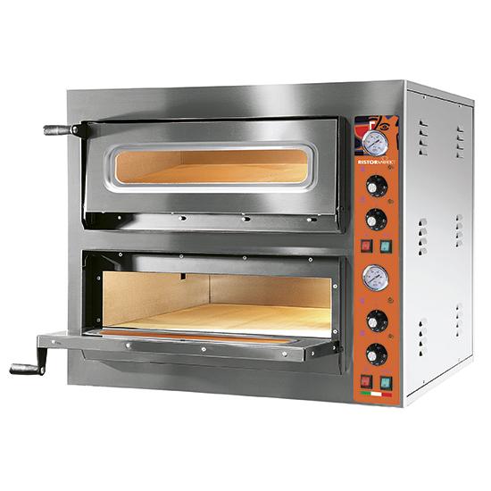 Elektrinė picos krosnis, talpa 6+6 picos ø30 cm, mechaninė kontrolė Image