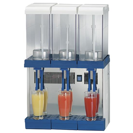 Šaldomas gėrimų dozatorius +2° +8°, 3x 9 litrai Image