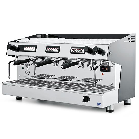 Espreso kavos aparatas, automatinė, 3 grupė, 18 litrai Image