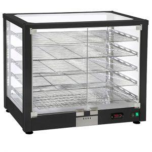 Šildoma vitrina, 4 aukštai, +20 ° / + 90 ° C Image