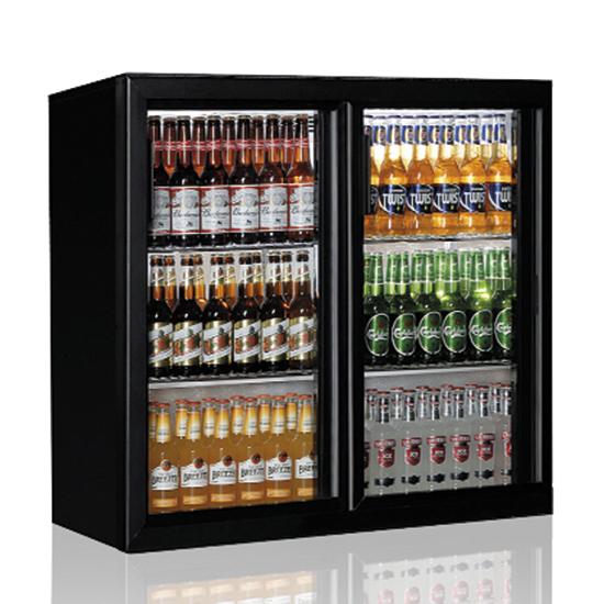 Pobarinis šaldytuvas 2 slenkančios durys, 201 litrai, +1°/+10°C Image