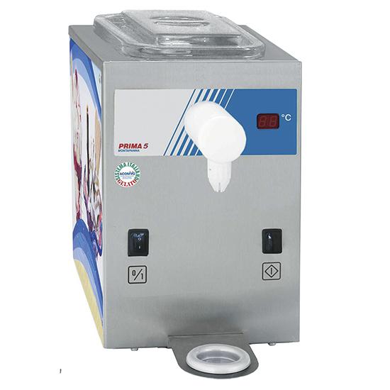 Minkšti ledai, talpa 2 litrai, gamyba 100 litrų per valandą, oro aušinamas Image